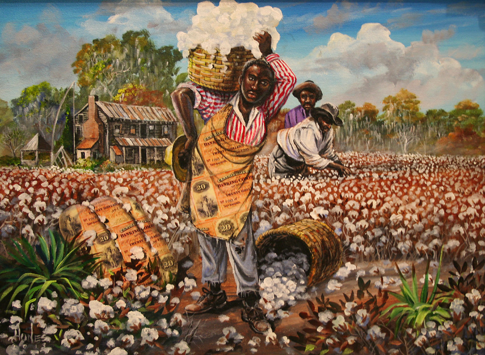 Famous Slavery Paintings